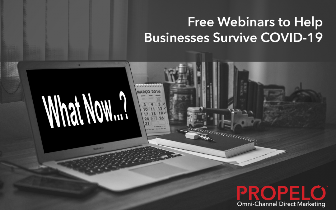 Free Webinars to Help Businesses Battle COVID-19