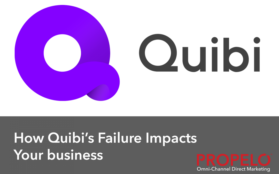 How Quibi's Demise Impacts Your Business