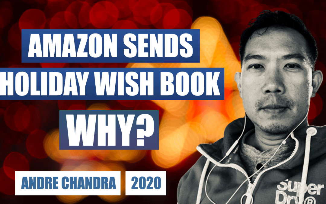 Even Amazon Knows Direct Mail Delivers for Holiday Marketing with Andre Chandra