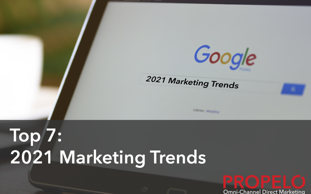 Top 7: 2021 Marketing Trends