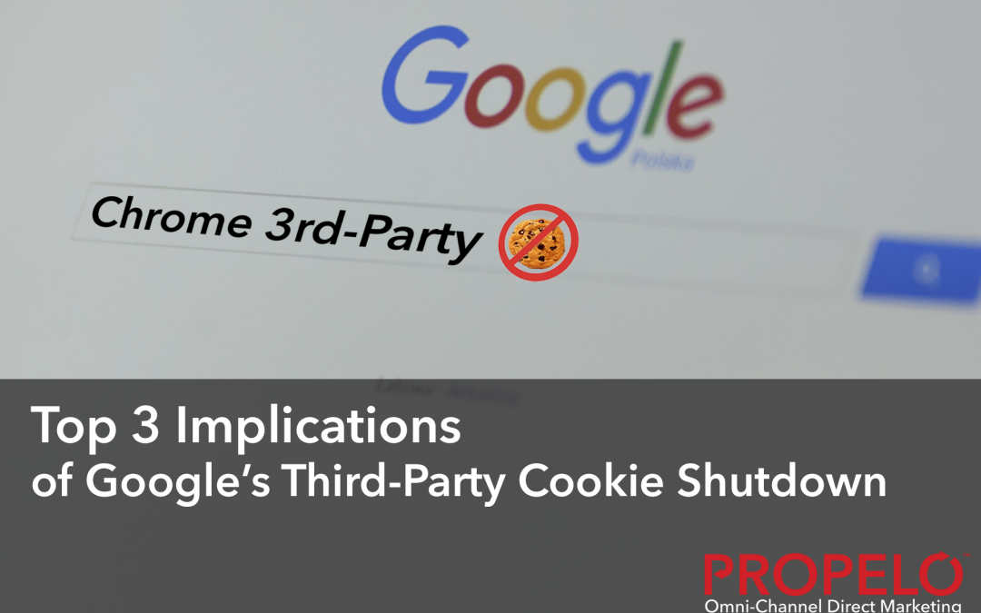 Top 3 Implications of Google's Third-Party Cookies Shutdown